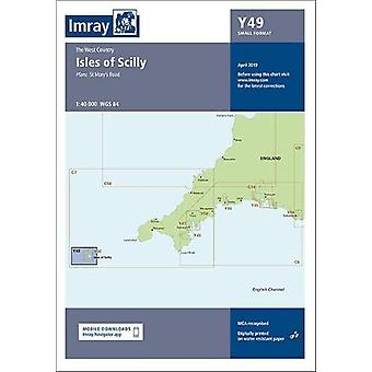 Imray Chart Y49 - Isles of Scilly (Small Format) by Imray - 9781786791