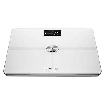 Wifi & Bluetooth Smart Scale 8 Users- Withings Body+, White