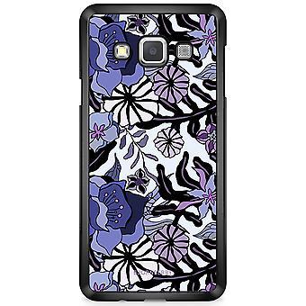 Bjornberry Shell Samsung Galaxy A3 (2015) - Purple Flowers