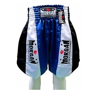 Morgan Elite Boxing Shorts Blue