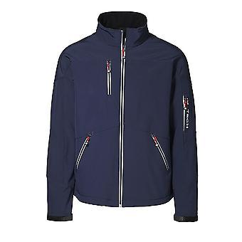 ID Mens Contrast Regular Fitting Soft Shell Jacket
