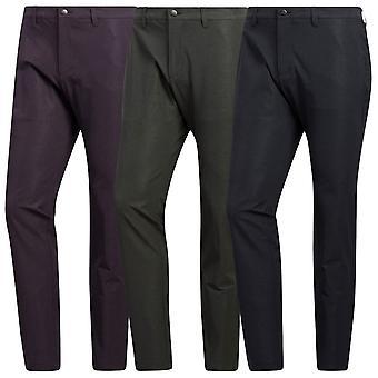 adidas Golf Mens 2020 Ult365 Heringbone Print Reg Tapered Trousers