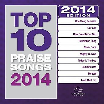 Maranatha! Music - Top 10 Praise Songs 2014 [CD] USA import