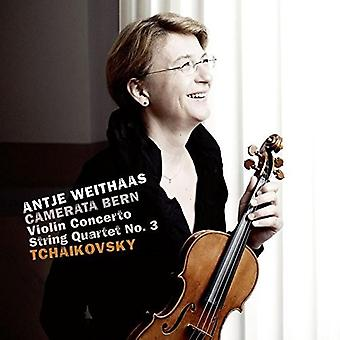 Tchaikovsky / Weithaas / Bern - Violin Concerto 35 / String Quartet 3 [CD] USA import
