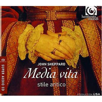 J. Sheppard - John Sheppard: Media Vita [SACD] USA import