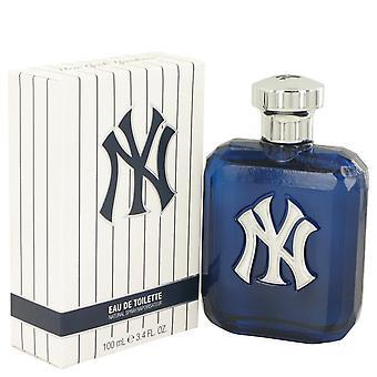 New York Yankees by New York Yankees Eau De Toilette Spray 3.4 oz / 100 ml (Men)