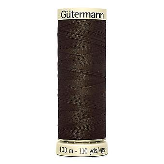 Gutermann Sew-all 100% Polyester Thread 100m Hand and Machine Colour Code  - 21