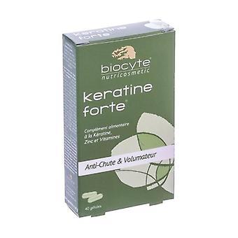 كيراتين فورت المضادة للشعر فقدان 40 أقراص