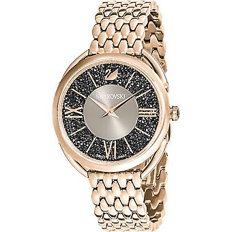 Swarovski 5452462 Crystalline Glam 35mm Gray Sunray Dial Ladies Watch