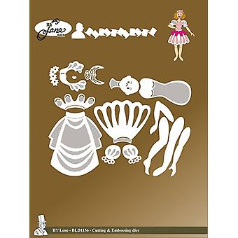 By Lene Fairy Tale 3 Cutting & Embossing Dies
