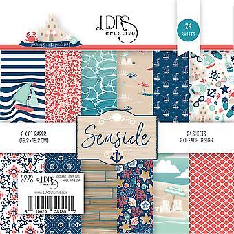 LDRS Creative Seaside 6x6 Inch Paper Pack