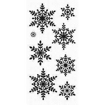 Meine Lieblings-Dinge heitere Schneeflocken klare Briefmarken