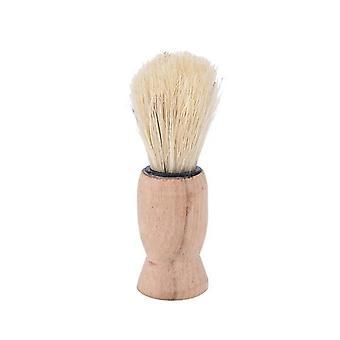 Pure Badger Hair Shaving Brush Wood - Double Edge Safety