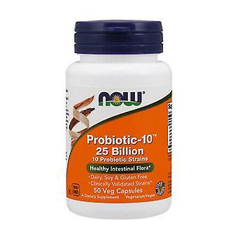 Probiotiska-10 25 Miljarder 50 vegetabiliska kapslar
