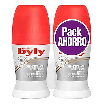 Roll-On Deodorant Sensitive Byly (2 uds)