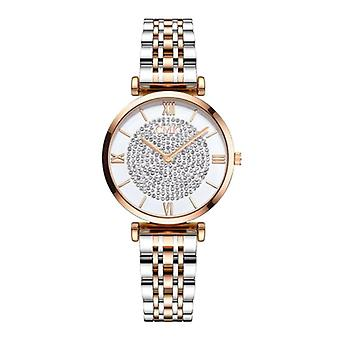 Meibo Ladies Crystal Watch - Anologue Luxury Watch for Women