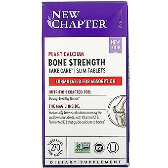 New Chapter, Bone Strength Take Care, 270 Vegetarian Slim Tablets