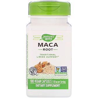 Natur's Way, Maca Root, 525 mg, 100 Vegan kapslar