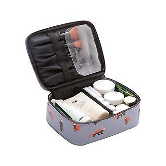 Portable Travel Toiletries Storage Bag Lesser Panda Type