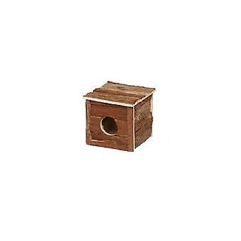 Lazy Bones Hamster/Gerbil Wooden Home