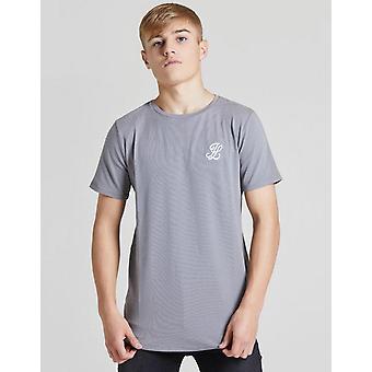 New ILLUSIVE LONDON Boys' Core Short Sleeve T-Shirt Grey