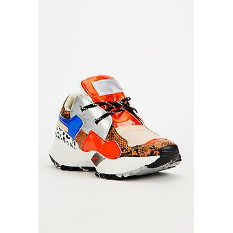 נעלי ספורט ניגודיות בלוק צבע 682467