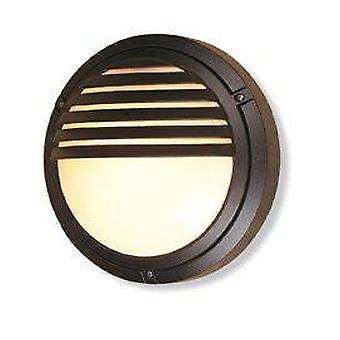 Firstlight Verona - 1 lys utendørs vegg lys - 100W svart IP54, E27