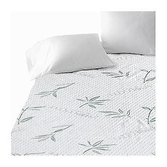 Protector de colchón de bambú transpirable impermeable totalmente equipado