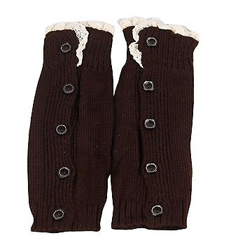 Kids Girl Children Leg Warmers Crochet Knitted Lace Boot Cuffs Toppers