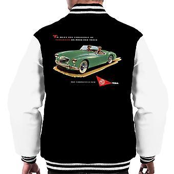 MG on Road and Track British Motor Heritage Men's Varsity Takki