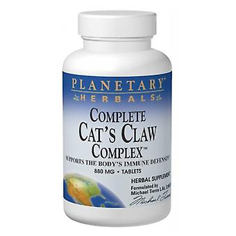 Planetary Herbals Complete Cat's Claw Complex, 90 Onglets