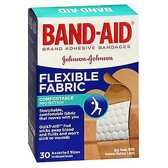 Band-Aid Flexible Fabric Bandages Assorted, 30 each