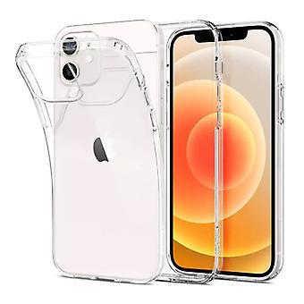 Stoff zertifiziert® iPhone 12 Mini Transparent klar Fall Abdeckung Silikon TPU Fall