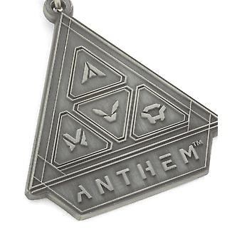 Official Anthem Metal Keyring/Keychain