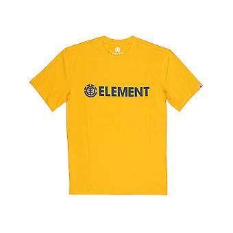 Element Blazin Short Sleeve T-Shirt in Gold