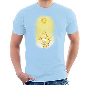 Care Bears Funshine Bear Dancing In The Sun Men's T-Shirt