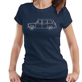 London Taxi Company TX4 Outline Women's T-Shirt