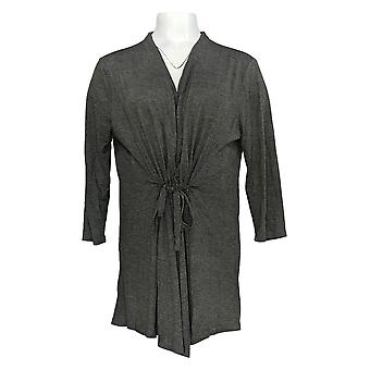 Rhonda Shear Mujeres's Suéter Gris Cardigan Poliéster 699-669