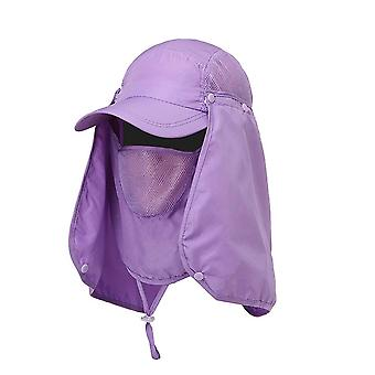 Outdoor Uv Protection, Ear Flap-neck Cover Cap