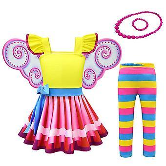 Mädchen Prinzessinnen Dress Up, Kinder Fancy Beauty Kostüm