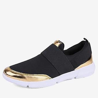 Mujeres Slip On Loafers Señoras Casual Comfort Zapatos Planos