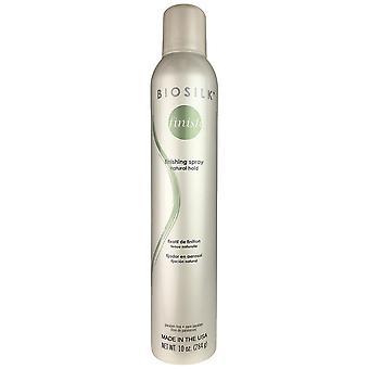Biosilk finishing hair spray 10oz natural fixation paraben free made in usa