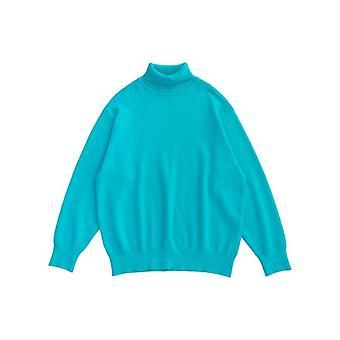 Fw Warm Turtleneck Sweater, Winter Oversized Hip Hop Sweater/women