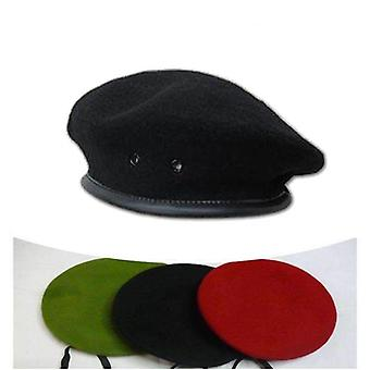 High Quality Breathable Soldier Training Beret Hat Male Wool Ivy Caps