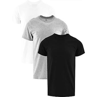 Calvin Klein Black Short Sleeve Crew Neck 3-Pack T-Shirt