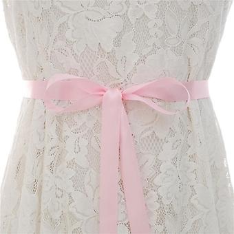 الراين فستان الزفاف حزام كريستال الزفاف فساتين الماس وشاح
