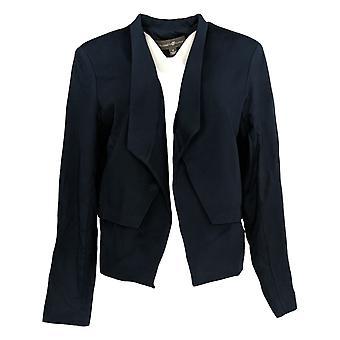Elizabeth & Clarke Women's Blazer Set Ponte Knit StainTech Blue A368592
