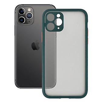 Mobile cover iPhone 11 KSIX Duo Soft Green
