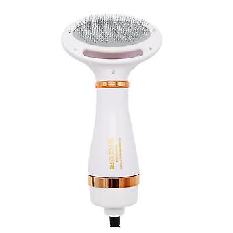 Pet Hair Dryer Electric Hair Dryer Comb For Cats And Dogs Drying And Pulling Comb With One Hand Operation