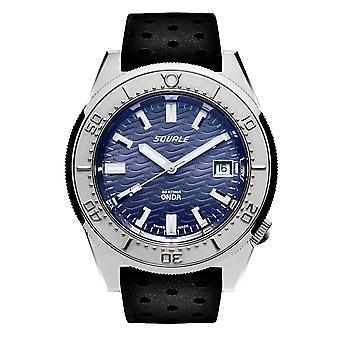 Squale 1521ODG.NT 500 Meter Swiss Automatic Dive Wristwatch Rubber